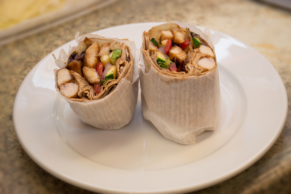 Il Nam's Chicken Wrap