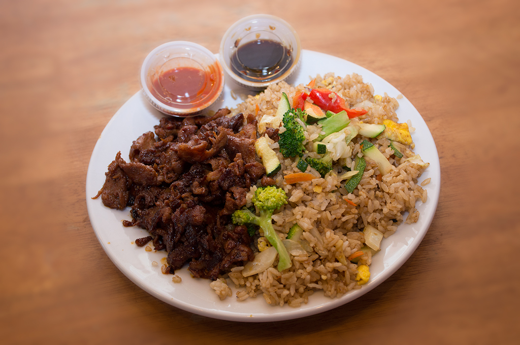 Pork Bulgogi Platter with Fried Rice